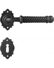 Klamka Madrid 2101 z rozetą na klucz