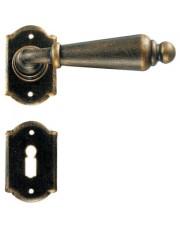 Klamka Oslo 2401 z rozetą na klucz