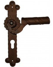 Klamka Absalon 1092 z otworem na wkładkę