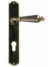 Klamka Oslo 2400 na wkładkę rozstaw 92 mm