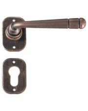 Klamka Berna 2110 z rozetą na wkładkę