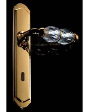 Klamka Crystal z otworem na klucz