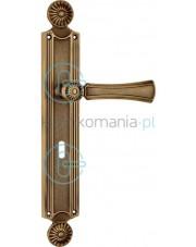 Klamka Daisy z otworem na klucz