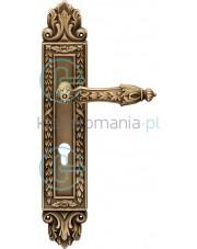 Klamka Arcadia 1640 z otworem na wkładkę