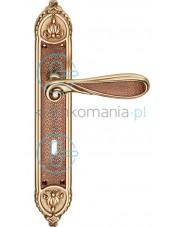 Klamka Aisha 1650 z otworem na klucz