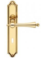 Klamka Heidi z otworem na klucz zwykły